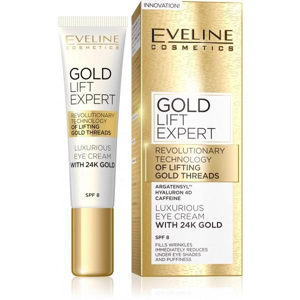 EVELINE GOLD LIFT EXPERT - Očný krém 15ml