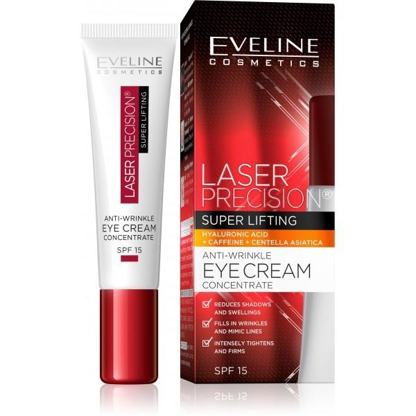 EVELINE LASER PRECISION - Liftingový krém pod oči 15ml