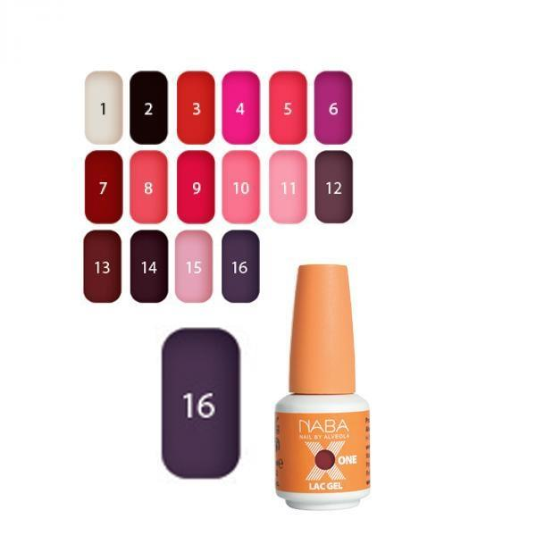 Gélový lak X ONE 6ml 16-Plum