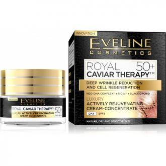 EVELINE COSMETICS ROYAL CAVIAR THERAPY 50+  Denný krém 50ml