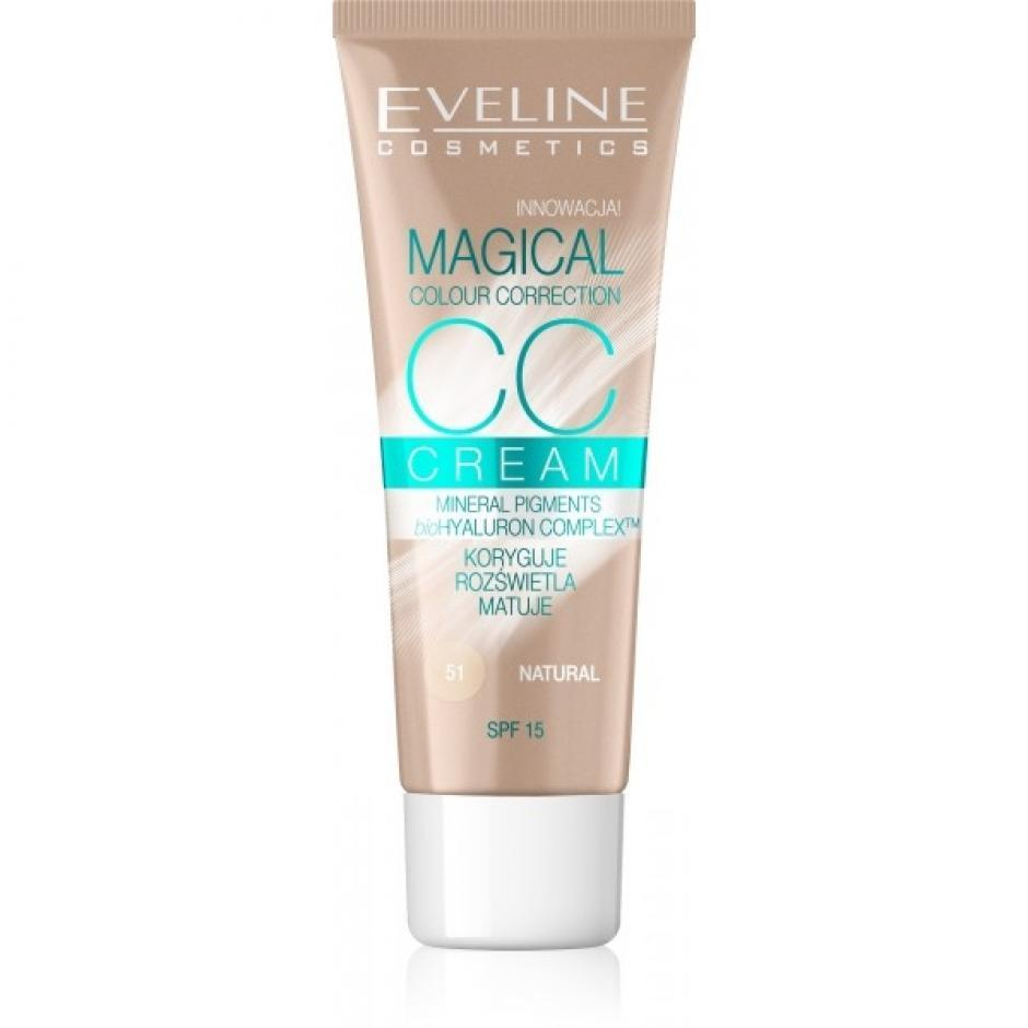 EVELINE MAGICAL CC krycí krém 51-natural 30ml
