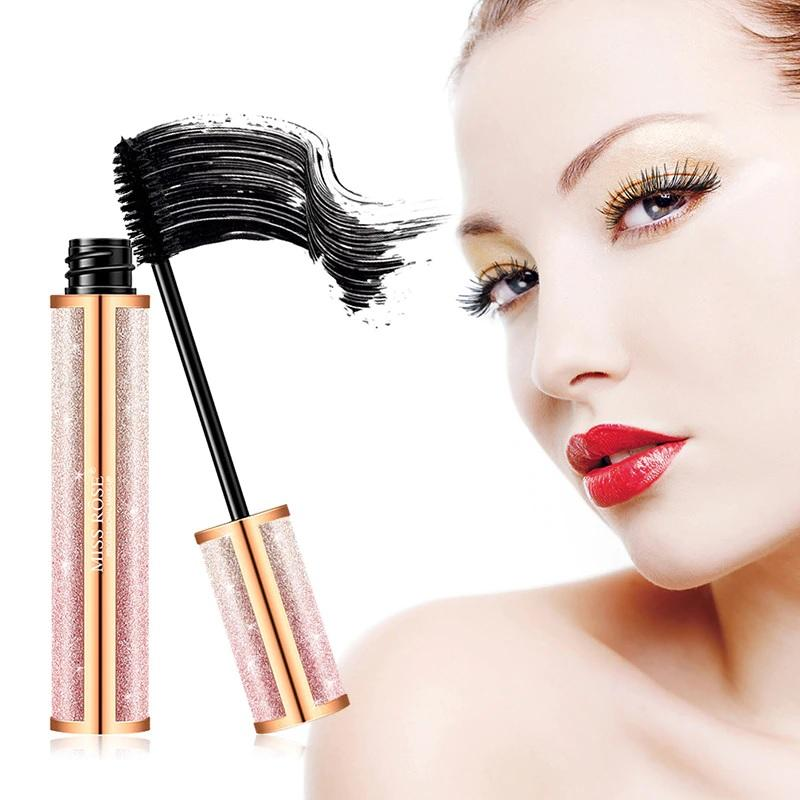 +MISS ROSE Silk Fiber Lash Mascara Waterproof black-čierna