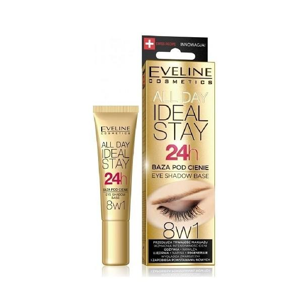 EVELINE Báza pod očné tiene all day ideal stay 8v1 12ml