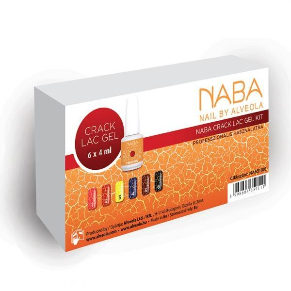 Sada Colour Gel farebný gél NABA CRACK 6x4ml
