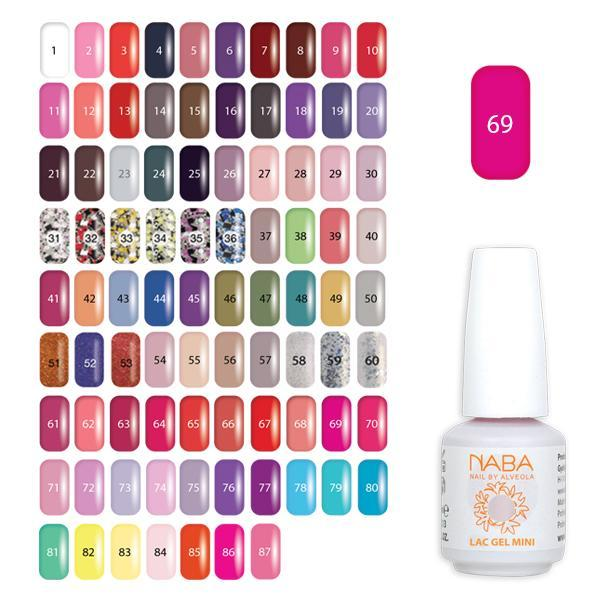 Lac Gel Mini 69 - 15 ml - Dahlia
