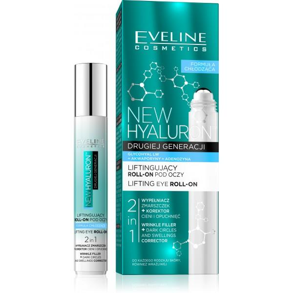 EVELINE COSMETICS BIO HYALURON 4D Roll-on očný gél 15ml