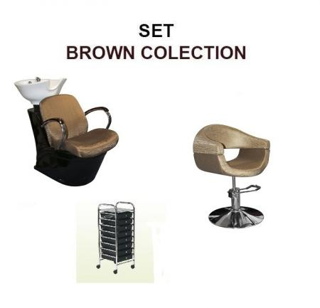 Kadernícky SET BROWN COLECTION