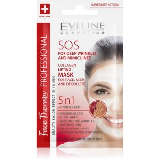 EVELINE FACE THERAPY SOS 5v1 – Kolagenová liftingová maska 7ml